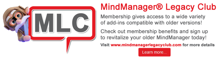 The MindManager Legacy Club