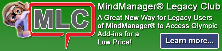 MindManager Legacy Club - Get Access to Olympic Addins for One Low Proce