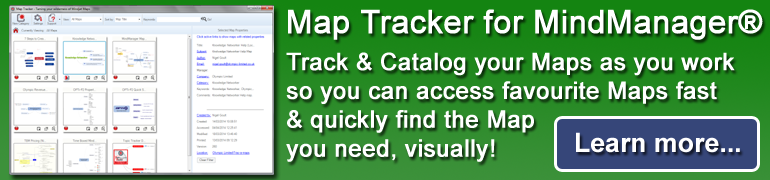 Map Tracker for MindManager