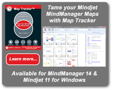 Map Tracker for Mindjet MindManager