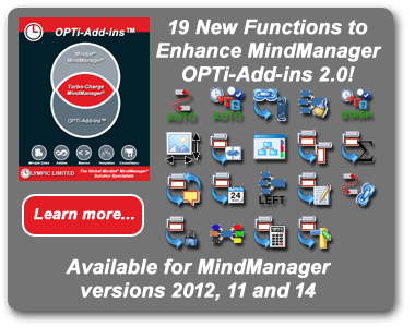 OPTi-Addins for Mindjet MindManager
