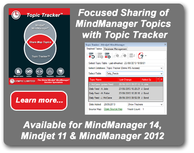 Topic Tracker for MindManager