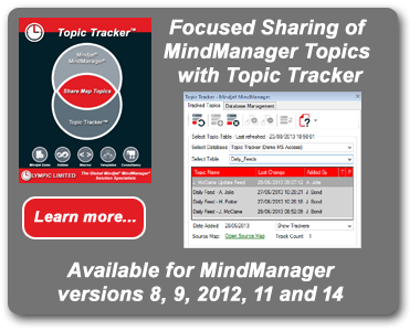 Topic Tracker for Mindjet MindManager