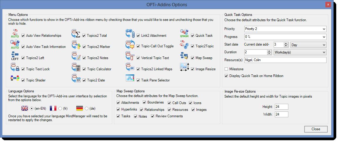 OA-Options