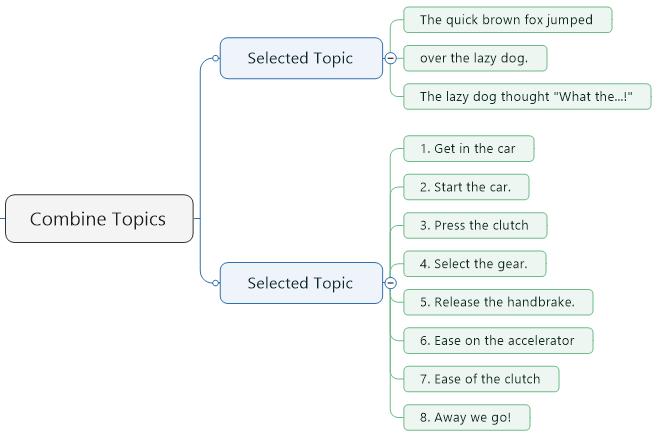 Combine Sub-Topics-Example