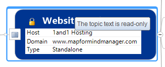 Lock Topic Text Command Selected Topic WHen Accessed