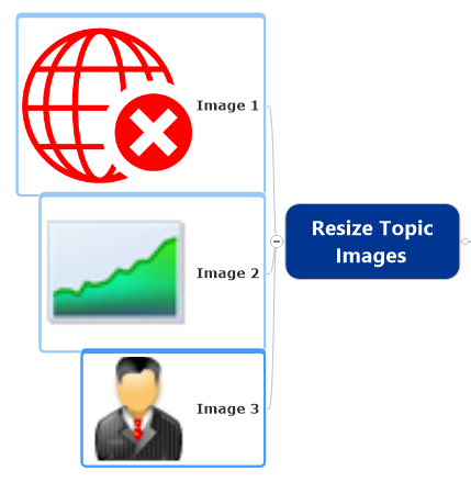 Resize Topic Images Command Selected Topics Before Resize
