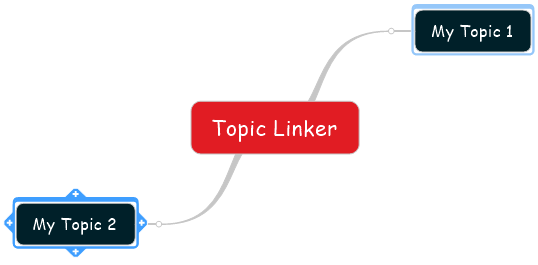 Topic Linker Command Topics Selected