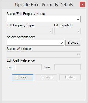 Excel Properties