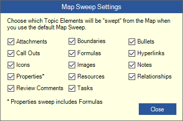 Map Sweep