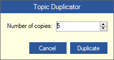 Topic Duplicator